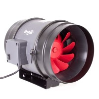 200mm GroFan 2-Speed Mixed Flow Fan  | Fans, Silencers | All Fans | Exhaust Fans | 200mm Fans