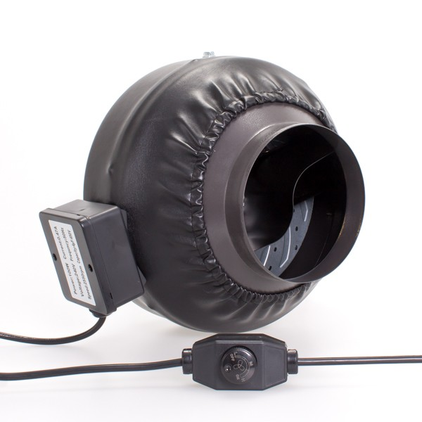 150mm Centrifugal Black Fan Fans Silencers All Fans