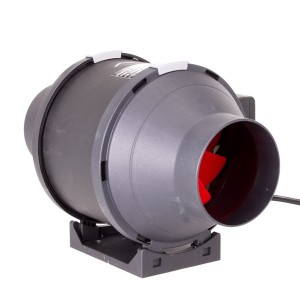 Plastic inline tube fan 100mm  | Fans, Silencers | All Fans | 100mm Fans