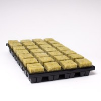 35mm x 28 Large Cubes in Tray Cultilene Rockwool | Propagation | Rooting Gel, Scalpels & Substrates