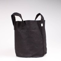 Fabric Pot Black 11.4L