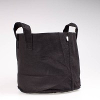 Fabric Pot Black 19L