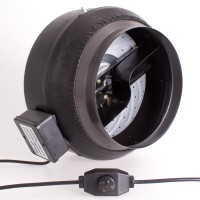 250mm Centrifugal Black Fan | Fans, Silencers | All Fans | Exhaust Fans | 250mm Fans