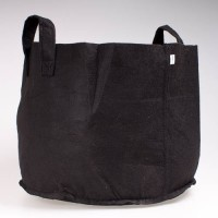 Fabric (felt)  Pot Black 38L  (10 Gallon) | Pots, Trays & Planter Bags  | Pots