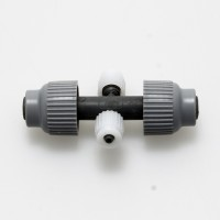Cross Reducing 13mm-4mm with Screw Caps | New Products | Autopot Systems | Plumbing | 13mm Plumbing Fittings | 4mm Plumbing fittings