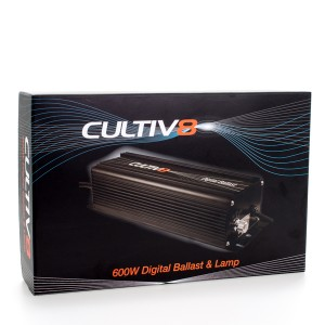 Cultiv8 600W Digital Ballast & Bulb Combo | Lighting Kits | 600 Watt | Digital Lighting Kits | H.P.S. Digital Lighting Kits | All HPS Kits | Digital Ballasts | 600 Watt | Ballasts | Home | Specials