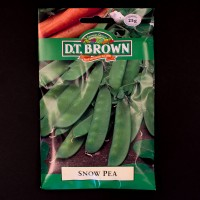 Snow Pea | Seeds | D.T. Brown Vegetable Seeds | Watkins Vegetable Seeds