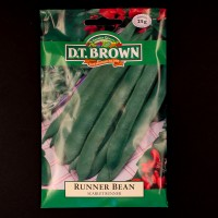 Runner Bean - Scarlet Runner | Seeds | D.T. Brown Vegetable Seeds | Watkins Vegetable Seeds