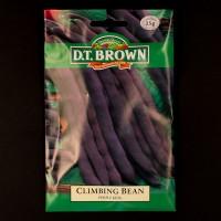 Climbing Bean - Purple King | Seeds | D.T. Brown Vegetable Seeds | Watkins Vegetable Seeds