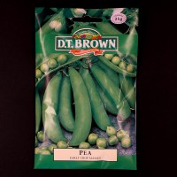 Pea - Early Crop Massey | Seeds | D.T. Brown Vegetable Seeds | Watkins Vegetable Seeds