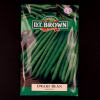 Dwarf Bean - Snap Bean | Seeds | D.T. Brown Vegetable Seeds | Watkins Vegetable Seeds