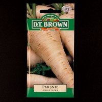 Parsnip - Hollow Crown | Seeds | D.T. Brown Vegetable Seeds | Watkins Vegetable Seeds