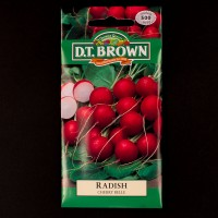 Radish - Cherry Belle | Seeds | D.T. Brown Vegetable Seeds | Watkins Vegetable Seeds
