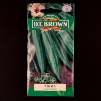 Okra - Lady's Finger | Seeds | D.T. Brown Vegetable Seeds | Watkins Vegetable Seeds