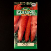 Carrot - All Seasons | Seeds | D.T. Brown Vegetable Seeds | Watkins Vegetable Seeds