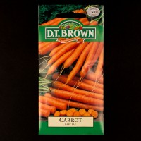 Carrot - Baby Pack | Seeds | D.T. Brown Vegetable Seeds | Watkins Vegetable Seeds