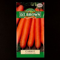 Carrot - Manchester Table | Seeds | D.T. Brown Vegetable Seeds | Watkins Vegetable Seeds