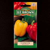 Capsicum - Sweet Delight | Seeds | D.T. Brown Vegetable Seeds | Watkins Vegetable Seeds