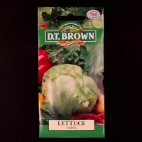 Lettuce - Iceberg  | Seeds | D.T. Brown Vegetable Seeds | Watkins Vegetable Seeds