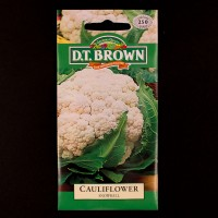 Cauliflower - Snowball | Seeds | D.T. Brown Vegetable Seeds | Watkins Vegetable Seeds