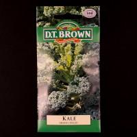 Kale - Green Curled | Seeds | D.T. Brown Vegetable Seeds | Watkins Vegetable Seeds