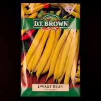 Dwarf Bean - Butter Bean | Seeds | D.T. Brown Vegetable Seeds | Watkins Vegetable Seeds