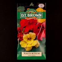 Nasturtium - Jewel Mixed | Seeds | Watkins Flower Seeds