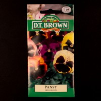 Pansy - Swiss Giants | Seeds | Watkins Flower Seeds