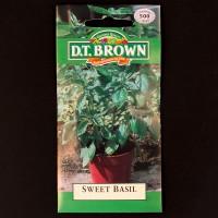 Sweet Basil | Seeds | D.T. Brown Herb Seeds | Watkins Herb Seeds
