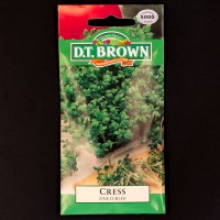 Cress - Fine Curled | Seeds | D.T. Brown Vegetable Seeds | Watkins Herb Seeds