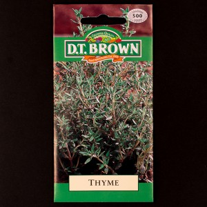 Thyme | Seeds | Watkins Herb Seeds | D.T. Brown Herb Seeds