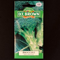 Broccoli - Green Sprouting | Seeds | D.T. Brown Vegetable Seeds | Watkins Vegetable Seeds