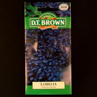 Lobelia - Crystal Palace | Seeds | D.T. Brown Flower Seeds
