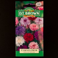 Cornflower - Polka Dot Mixture | Seeds | D.T. Brown Flower Seeds