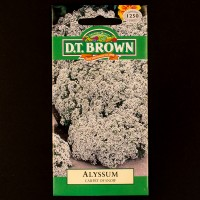 Alyssum - Carpet of Snow | Seeds | D.T. Brown Flower Seeds