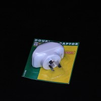 Double Adaptor Plug | Electrical | Power Boards & Extension Leads