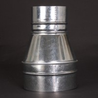 Ducting Reducing Joiner 150mm x 100mm (SILVER) Metal | Ducting | Ducting Fittings | Ducting Reducers and Joiners