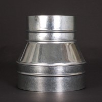 Ducting Reducing Joiner 200mm x 150mm Metal | Ducting | Ducting Fittings | Ducting Reducers and Joiners