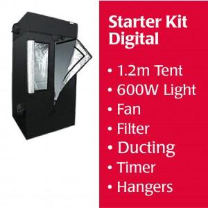 1.2m Starter Kit DIGITAL BALLAST, Tent, Fan, Filter and Accessories Kitset | Home | Specials | New Products | Lighting Kits | 600 Watt | Grow Tents | HOMEbox HomeLab Tents | Digital Lighting Kits | H.P.S. Digital Lighting Kits