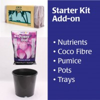 Grow Kit Pots Medium and Nutrient  | Home | Specials | New Products | Lighting Kits | 600 Watt | Pots, Trays & Planter Bags  | Pots