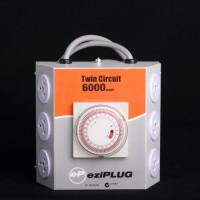 LMU EziPlug 6 Outlet Timer 6000 Watt | Electrical | Timers
