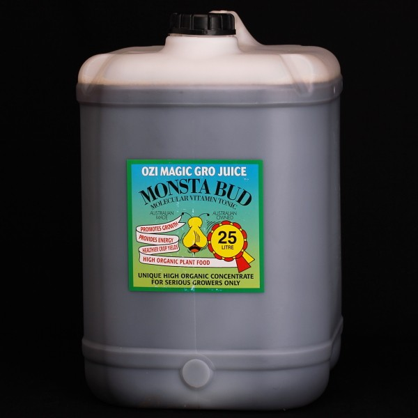 Monsta Bud 25l Nutrient Additives Ozi Tonic And Monsta