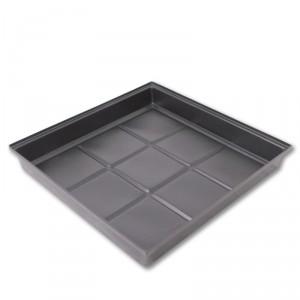 Flood & Drain Tray 1m x 1m x 150mm | Trays Saucers | Hydroponic Gear | Pots, Trays & Planter Bags  | Large Trays