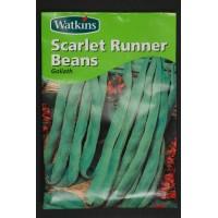 Scarlet Runner Beans Goliath | Seeds | Watkins Vegetable Seeds