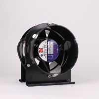 150mm Black Inline Fan Plastic Case  | Fans, Silencers | All Fans | Intake Fans | 150mm Fans