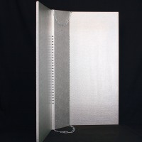 Shade Silver Premium 900mm x 800mm | Shades &  Cool Tubes | Light Shades