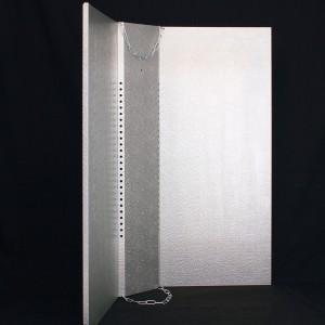 Shade Silver Premium 900mm x 800mm | Shades &  Cool Tubes | Light Shades