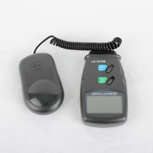 Digital Lux Meter : Digital light meter lux meters