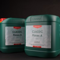 Classic Flores A+B 10L (2x5L) Canna  | Nutrients | Hydroponic Nutrients | Canna Products | Canna Nutrients