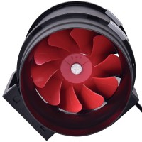 Plastic Inline Tube Fan 200m | Fans, Silencers | All Fans | 200mm Fans